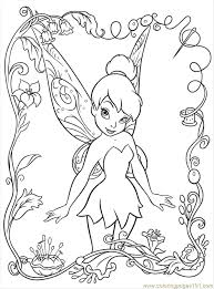 disney fairy coloring pages kids coloring
