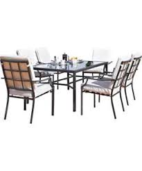 6 Seat Patio Table And Chairs Buy Barcelona 6 Seater Patio Furniture Set At Argos Co Uk Your