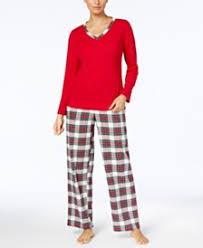 flannel pajamas shop flannel pajamas macy s