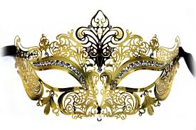 party mask gold metal masquerade party mask masquerade express