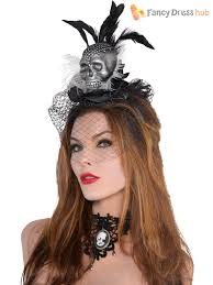 adults ghost bride headband ladies couture headpiece halloween