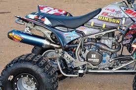 future honda dirt wheels magazine project honda trx450r back to the future