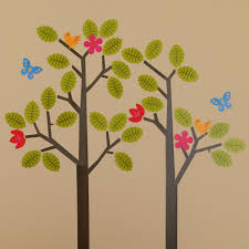 Flower Wall Decals For Nursery by Tree Wall Decals Roundup Project Nursery