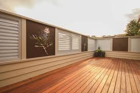 landscape u0026 privacy screens iron bark metal design
