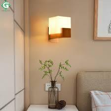 Schlafzimmer Lampe Und Nachttischlampe Gehen Ozean Wandleuchten Schlafzimmer Nachttischlampen Holz