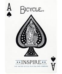 bicycle inspire cards the blue crown get your magic