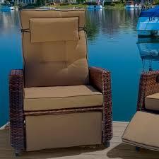 home loft concepts cartegena pe wicker recliner u0026 reviews wayfair
