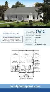 Searchable House Plans Ranch House Plan 97612 Total Living Area 1 624 Sq Ft 3