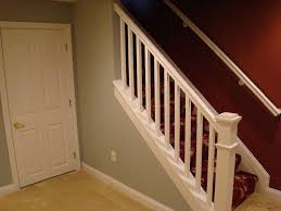 interior basement stairs regarding fresh painted steps board
