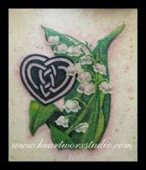 lily of the valley fisher tattoo and flower tattoos