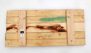 3d colorado flag distressed wood wooden vintage art denver