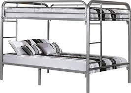 Futon Bunk Bed With Mattress Monarch Specialties Inc Full Over Full Futon Bunk Bed U0026 Reviews