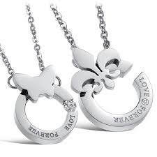 couple necklace chains images Country jewellery couple necklaces accessories great give girls jpg