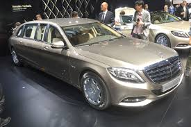 luxury mercedes maybach mercedes maybach pullman limo arrives in geneva auto express