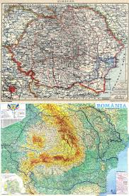 Romania Map Maps Of Romania And Moldova Reconsidering Russia And The Former
