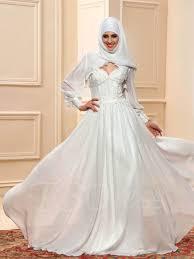 wedding dress muslimah appliques muslim wedding dress with tbdress