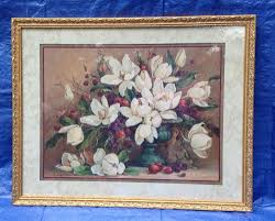 homco home interiors homco home interior picture decor barbara mock magnolias collectible