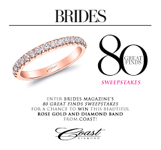 win a wedding ring enter to win a gorgeous coast diamond gold and diamond