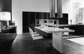 kitchen design black and white kitchen long kitchen island design and formal dining sets design