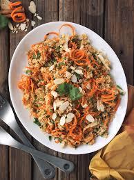 kosher for passover quinoa moroccan quinoa carrot salad from beth manos brickey tastyyummies