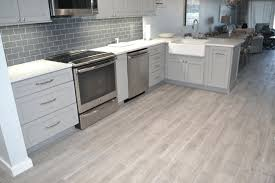 gray wood grain tile flooring ideas most durable floor kitchentile