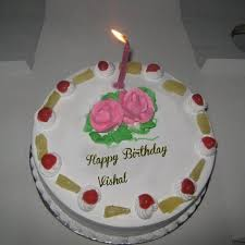 online photo edit candles birthday wishes vishal name cakes pix