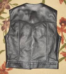 leather biker vest outlaw biker supplies apparel ccw concealed weapons