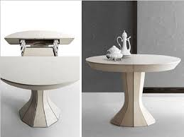 Modern Round Dining Room Tables Modern Round Expandable Dining Table Ikea