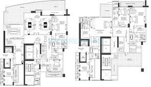 penthouse floor plans 5 bhk 13035 sq ft penthouse for sale in dlf the camellias at rs