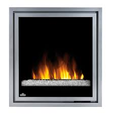 amazon com napoleon ef30g electric fireplace insert with glass