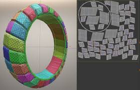 3d model futuristic tire low poly version cgtrader