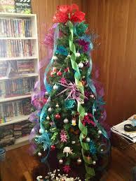 little mermaid themed christmas tree ahhhh my tree noël