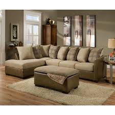 Simmons Sectional Sofas Made To Order Simmons Upholstery Harrison Taupe Sectional Simmons