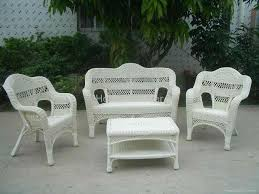 Wicker Patio Furniture Set Wicker Furniture Sets Glamorous White Wicker Patio Chairs Home