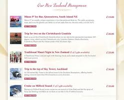 Wedding Gift Registry Uk Your Honeymoon Gift List No More Toasters On Your Wedding Day