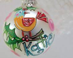 it doesnt get any simpler or cuter than a jolly name ornament in