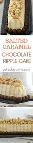super easy salted caramel chocolate ripple cake conventional