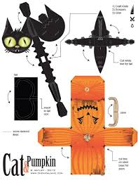 Halloween Crafts To Make At Home - easy diy halloween paper crafts for kids to make at home