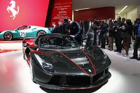 ferrari engine paris motor show ferrari laferrari aperta sells out ahead of