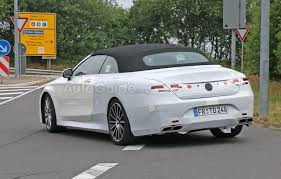 lexus forum aachen mercedes benz s63 amg convertible spied nearly camo free