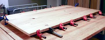 how to build a table top the building process knock on wood creations