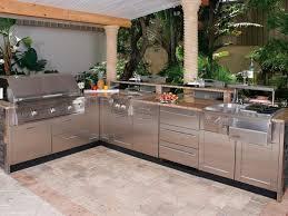 Bar Stool Kitchen Island L Shaped Bbq Island Designs Stainless Steel Single Side Burner