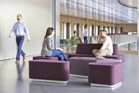 organic office lounge modules modular seating elements from