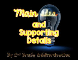 thanksgiving day 2014 sale 2nd grade snickerdoodles main idea and supporting details