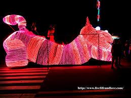 christmas light parade floats holiday lights live life and love