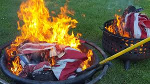 How To Retire A Flag Scouts Of Northern Illinois Retire Over 100 U S Flags In