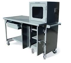 Mobile Computer Desks Workstations Desk 123 Mobile Computer Desk Australia Image Of Professional