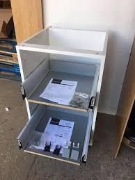 kitchen cabinet white flatpack easier online essex