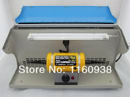 Bench Buffing Machine Polishing Motor With Dust Collector Bench Lathes Buffing
