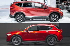 mazda canada auto showdown 2017 honda cr v vs 2017 mazda cx 5 motor trend
